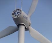39.9kW Wind Turbine Rear View